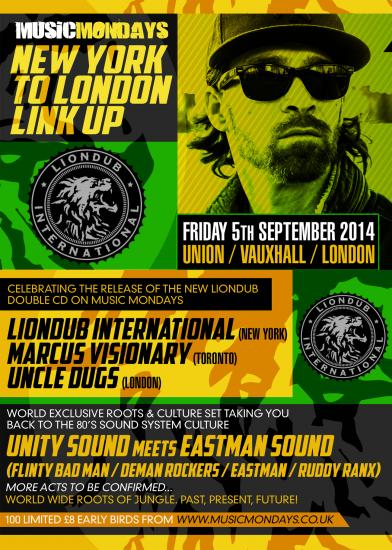 WORLD WIDE JUNGLE JAM! LONDON TO NEW YORK LINK UP