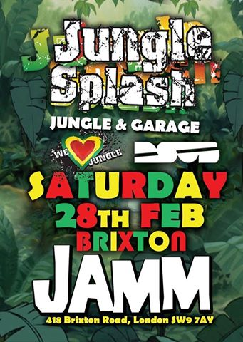Jungle Splash presents Jungle & Garage