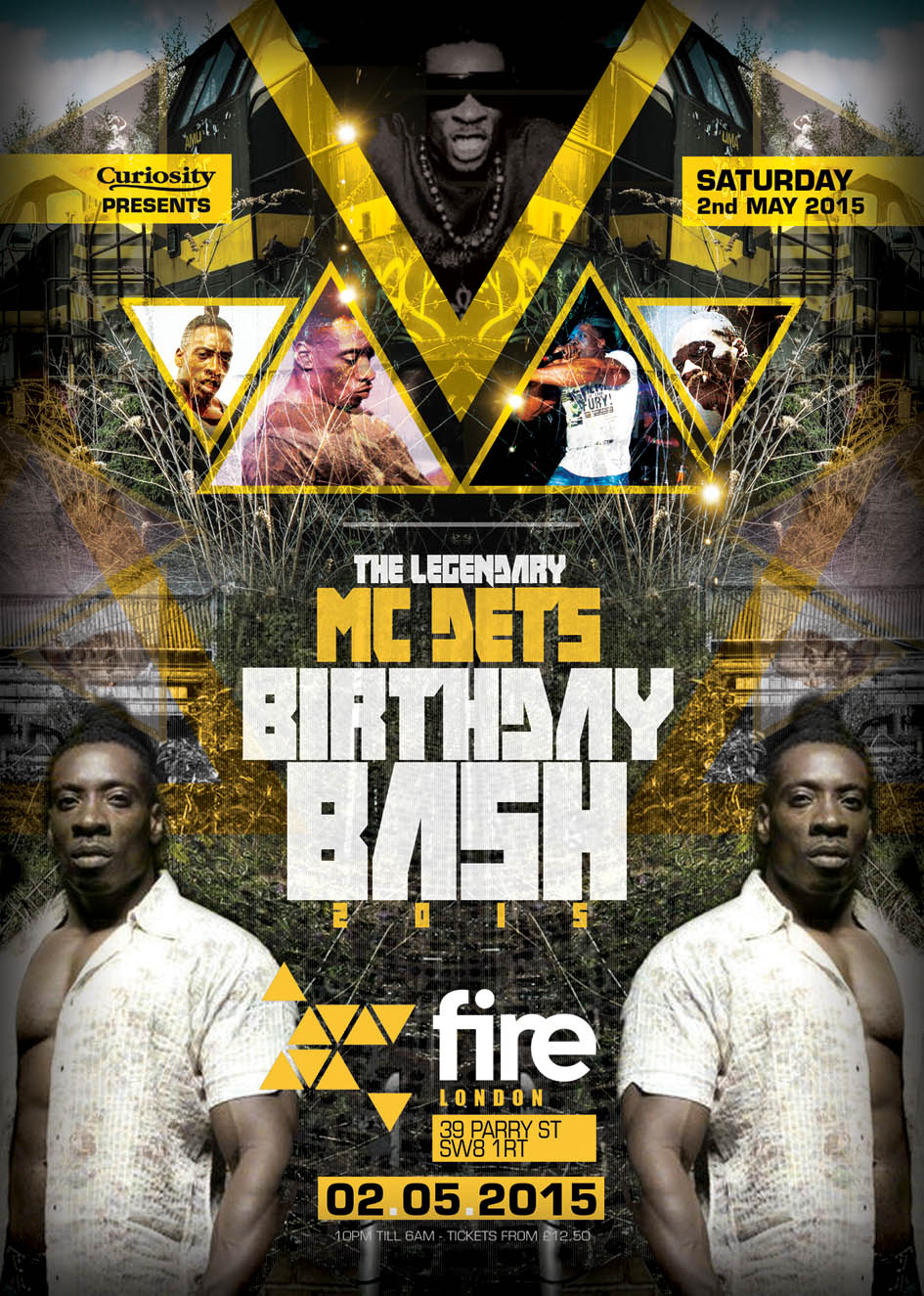 MC DET'S OFFICIAL BIRTHDAY BASH - VIP